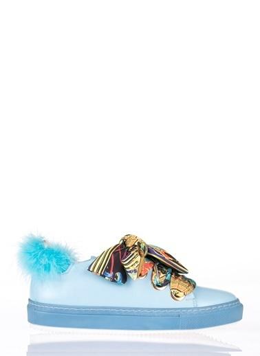 Pier Lucci Spor Ayakkabı Mavi